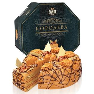 Изображение Королевский торт со сгущеным молоком и грецкими орехами 1кг