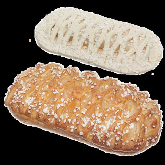 Изображение Пирог из слоеного теста с яблочной начинкой 85г - 1 шт.
