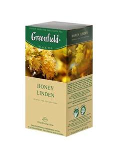 """Изображение Чай """"Greenfield"""" 25St x1,5g травяной мед Линден"""