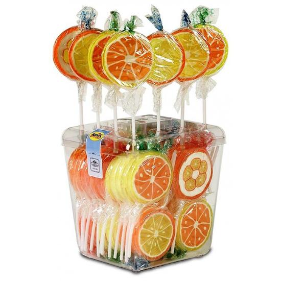 Picture of Lollipops Orange  Slices 26G
