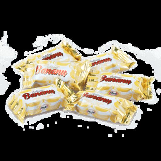 Picture of Banana  Bananiniai (banana flavored waffle sweet) 200g