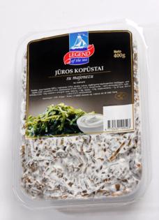 Изображение Морские водоросли с майонезом 0,4кг