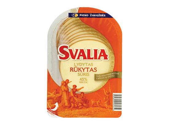 Изображение Сыр плавленый копченый «Свалия» 45% 150г