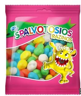 Picture of Coloured Raisins, 80g