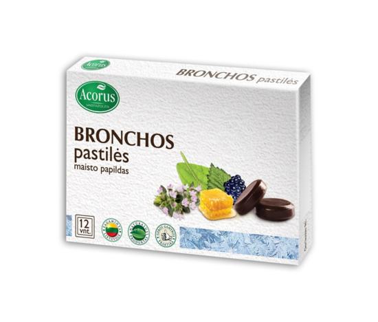 Picture of Bronchos lozenges (cough), 12g