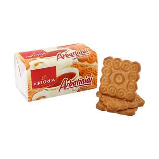 Изображение Печенье ARBATINIAI со вкусом ванили, 155 г
